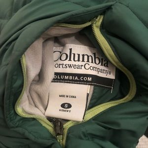 Columbia Reversible Puffer Jacket